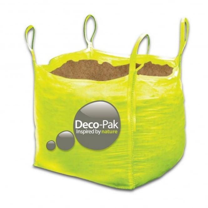 Deco-Pak Bulk Bag Of Brown Rock Salt