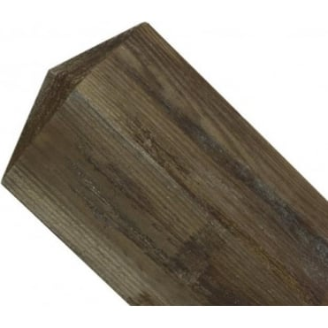 100mm sq. Pyramid Top Wooden Post 2.4m