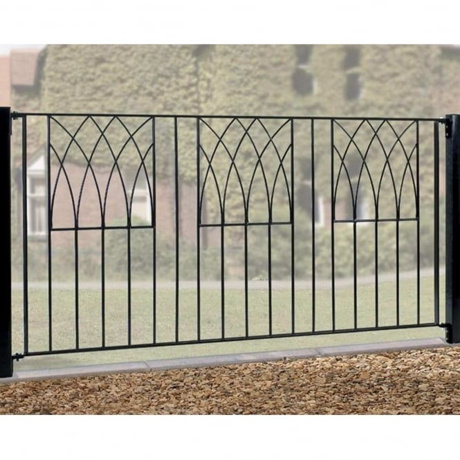 Burbage Abbey Modern Fence Panel