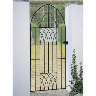Abbey Tall Bow Top Gate - Made to Measure