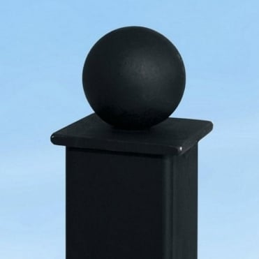 Ball Top Concrete In Metal Post 2.35m
