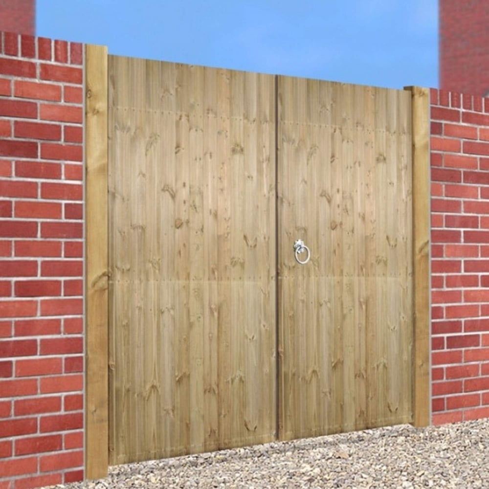 Burbage Carlton Double Driveway Gate Gardenstreet Co Uk
