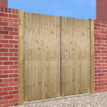 Carlton Tall Double Driveway Gate - Made to Measure