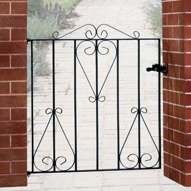 Burbage Classic Scroll Single Gate