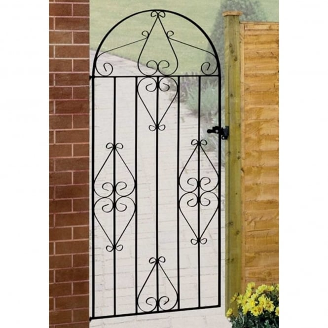 Burbage Classic Scroll Tall Bow Top Gate