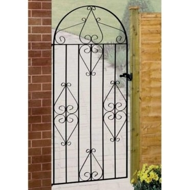 Classic Scroll Tall Bow Top Gate
