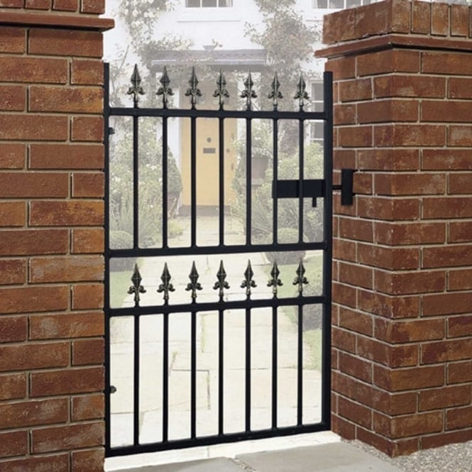 Burbage Corfe Premium Spear Top Single Gate - Made To Measure