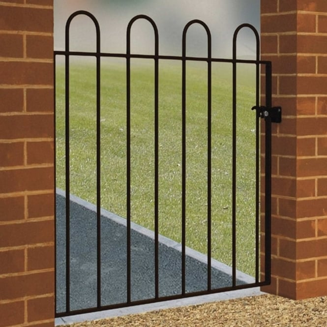 Burbage Court Hoop Top Single Gate