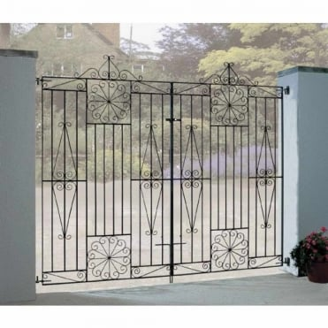 Edinburgh Tall Double Gates - Made To Measure
