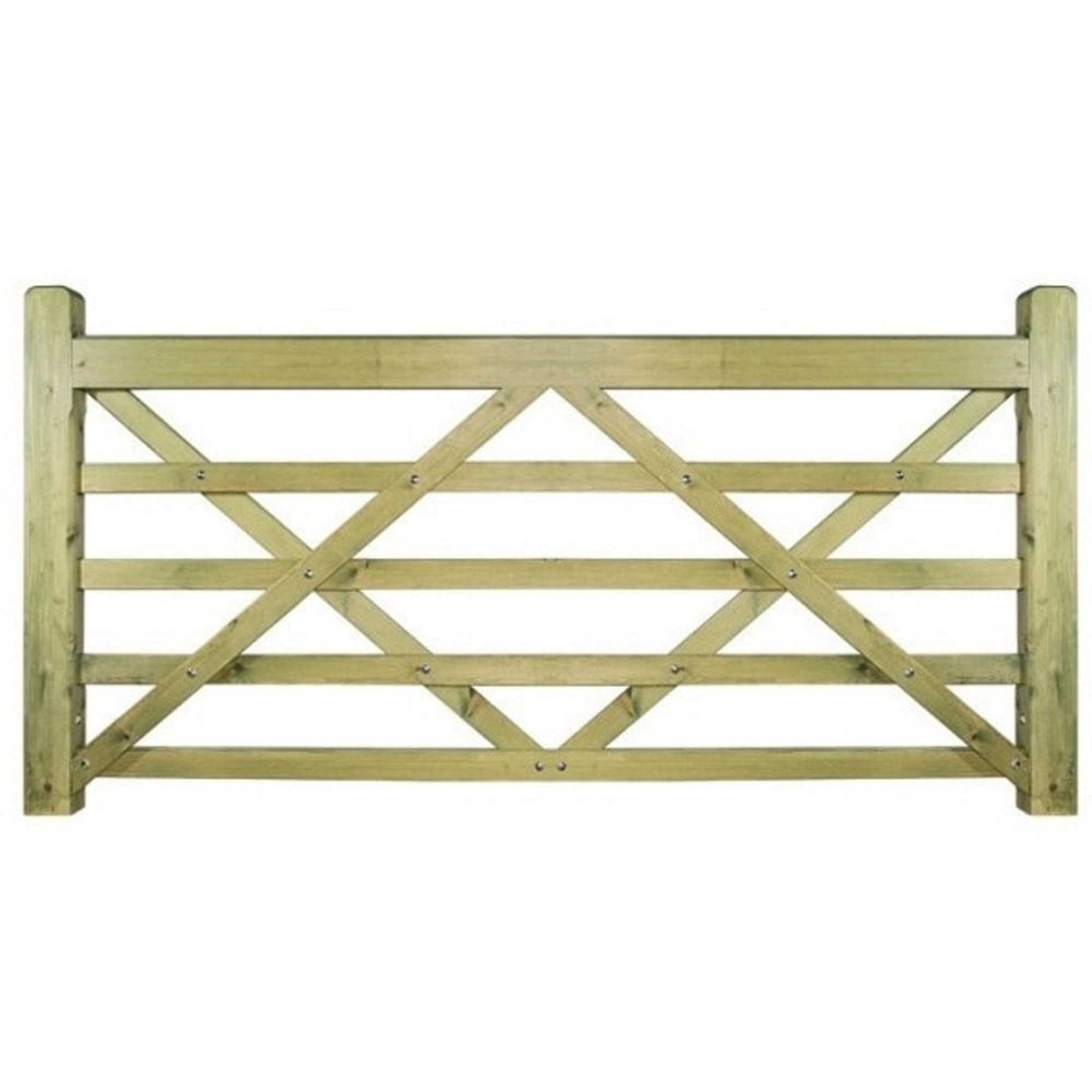 Burbage Evington Wooden Farm Field Style Gate
