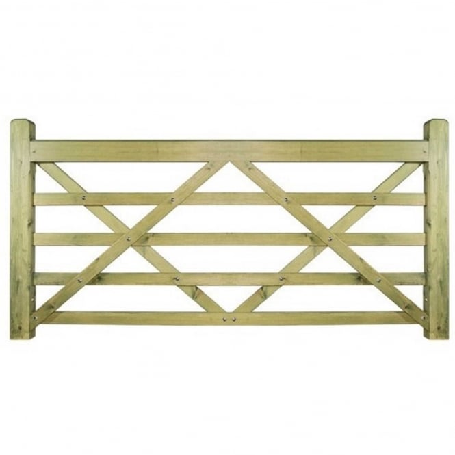 Burbage Evington Wooden Farm/Field Style Gate