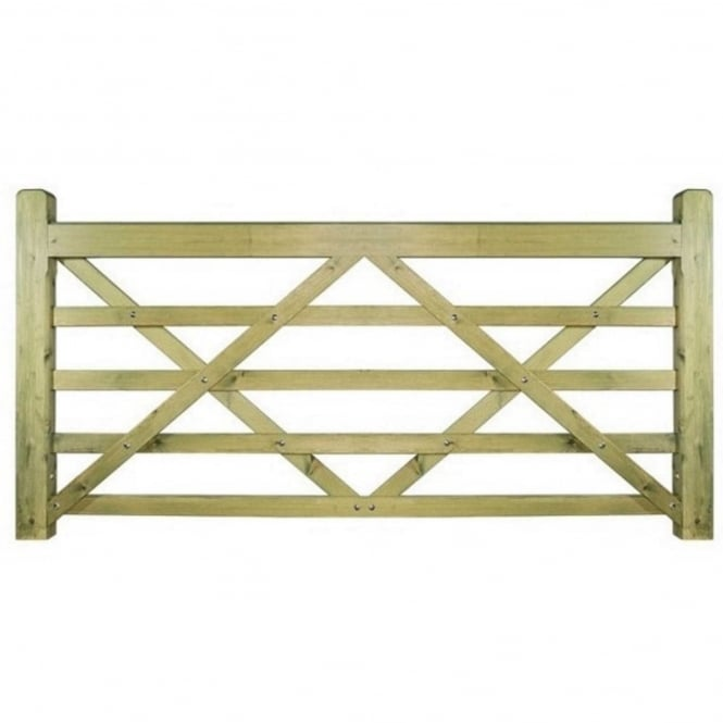 Burbage Evington Wooden Gate - Made to Measure