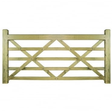 Evington Wooden Gate - Made to Measure