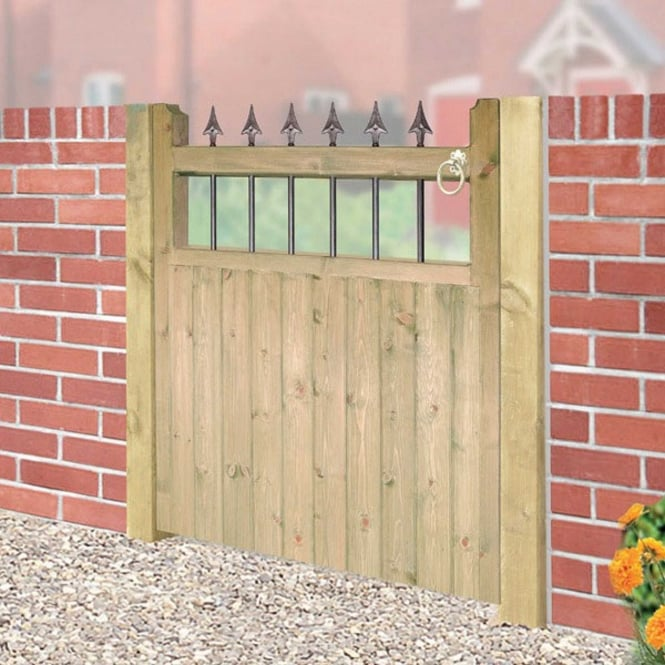 Burbage Hampton Single Gate - Made To Measure