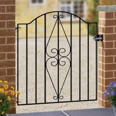 Henley Scroll Single Gate