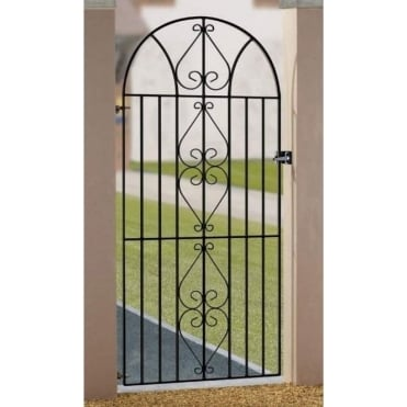 Henley Scroll Tall Bow Top Gate