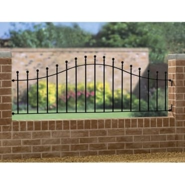 Manor Ball Top Arched Rail