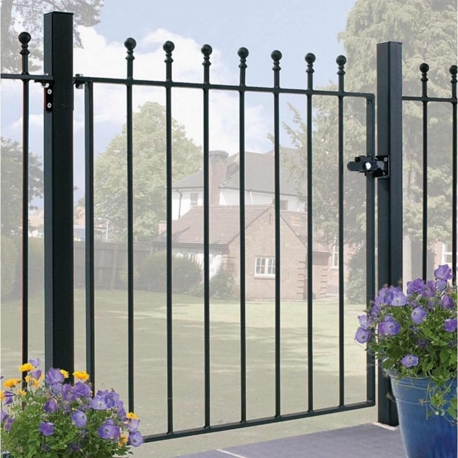 Burbage Manor Ball Top Single Gate