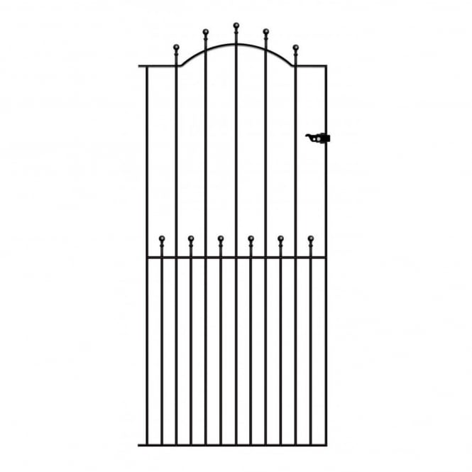 Burbage Manor Ball Top Tall Single Gate