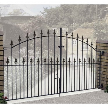 Saxon Double Driveway Gates - Made to Measure