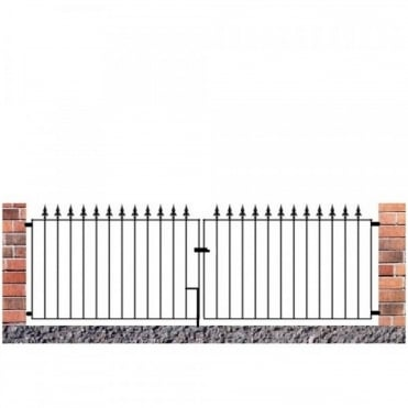 Saxon Flat Top Double Gate - Made to Measure