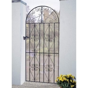 Stirling Scroll Tall Bow Top Gate