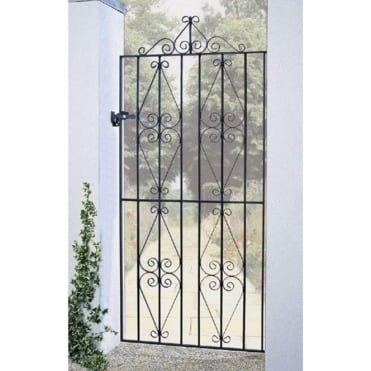Stirling Scroll Tall Flat Top Gate