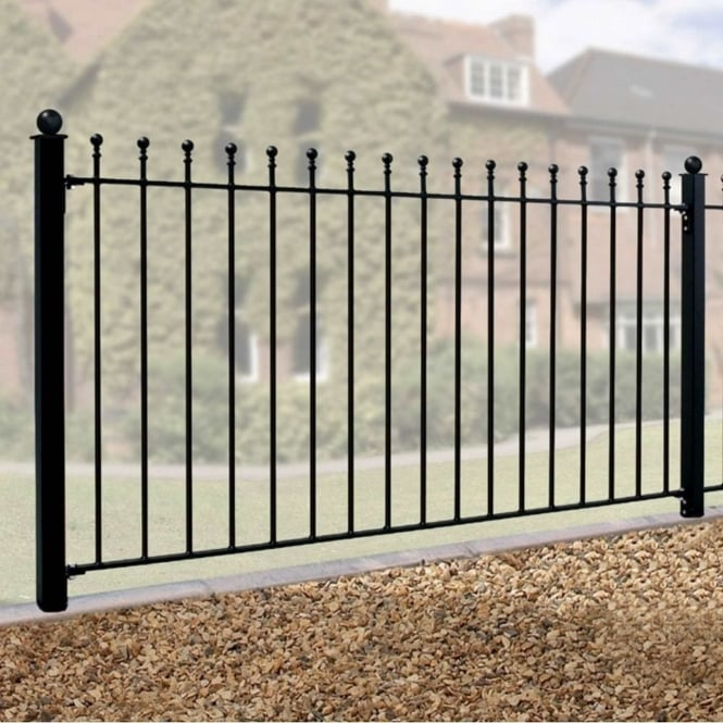 Burbage Weston Ball Top Fence Panel
