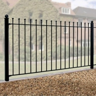 Weston Ball Top Fence Panel