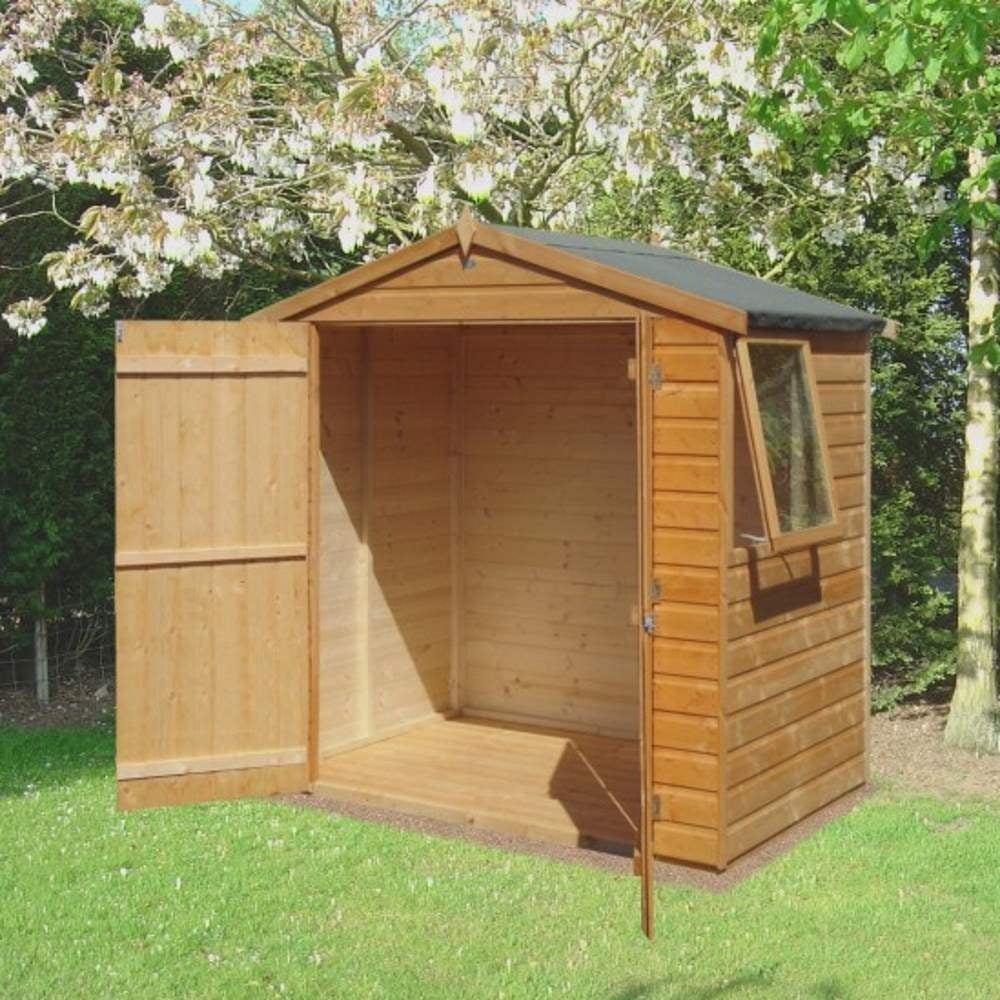 Garden Sheds 6x4 shire bute shiplap apex shed 6x4 | garden street