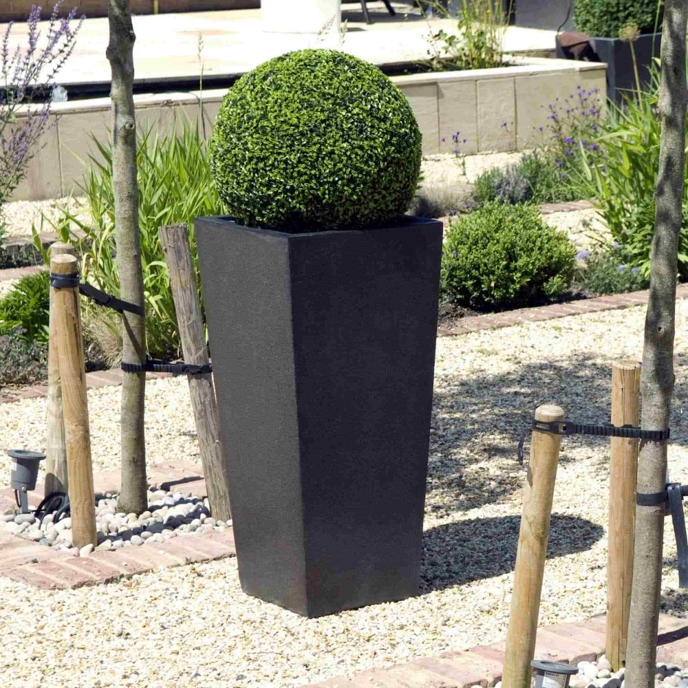 Cadix Tall Tapered Planters 2 Colours And 3 Sizes Online