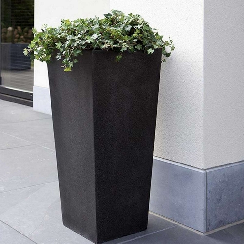 Tall Outdoor Planters Part - 47: Tall Tapered Planter