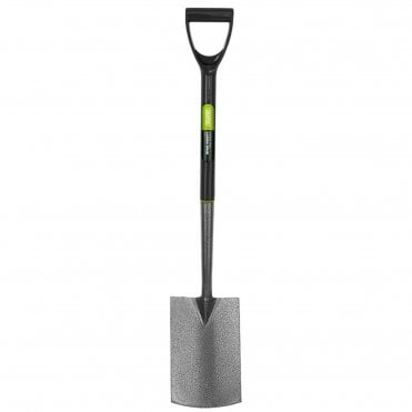 Carbon Steel Digging Spade with Plastic Handle