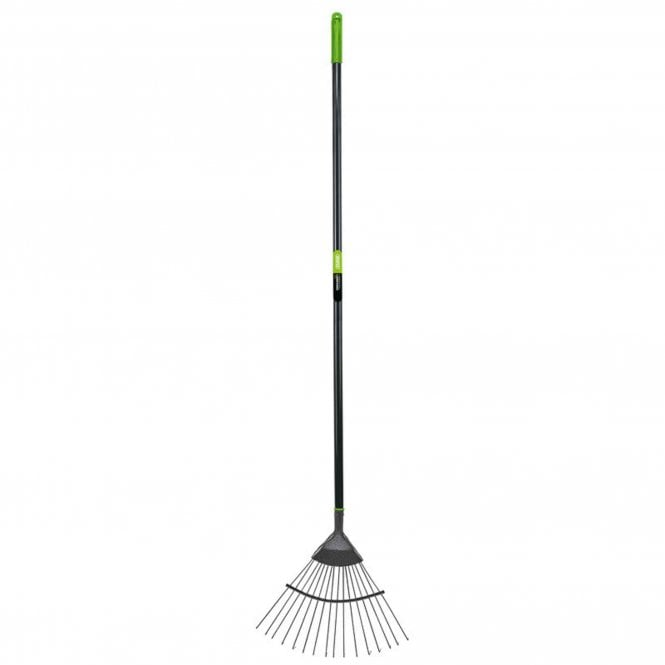 Draper Carbon Steel Lawn Rake with Plastic Handle