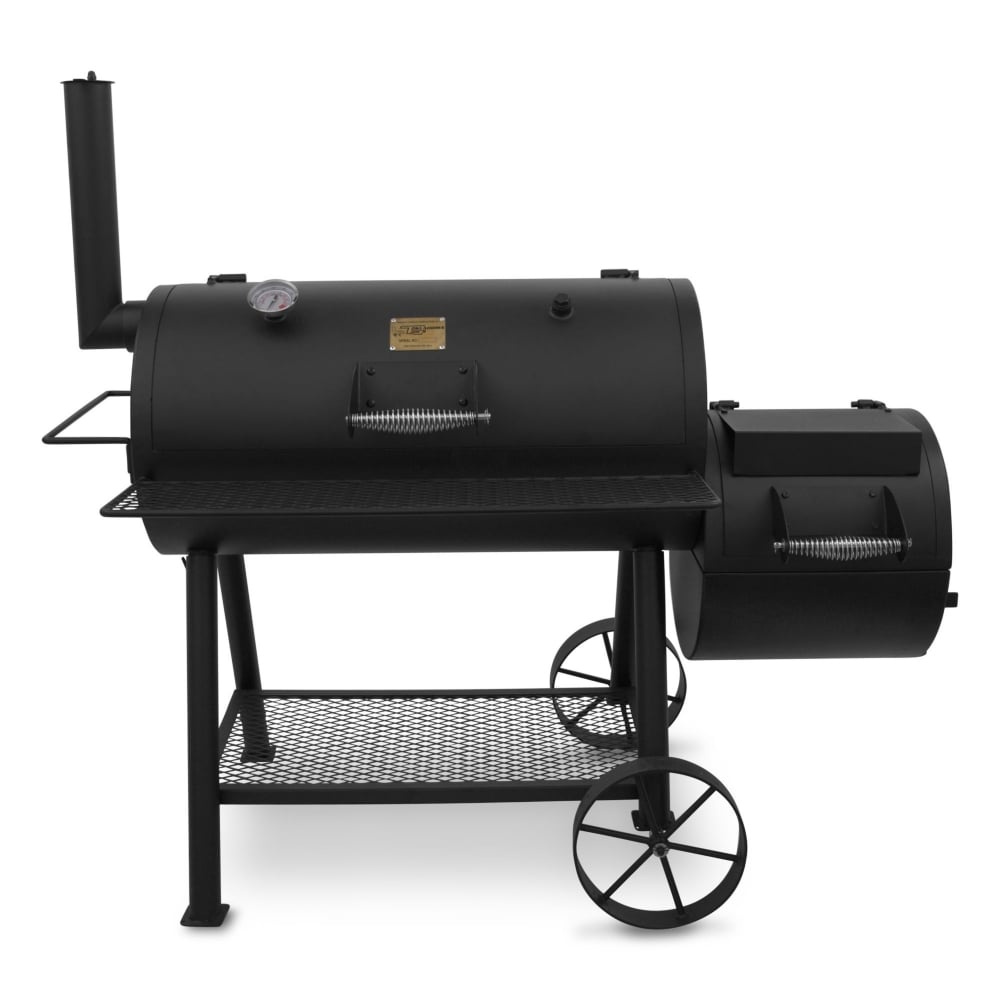 Char Broil Oklahoma Joe Highland Smoker Garden Street . Char Broil Outdoor  Patio Fireplace ...