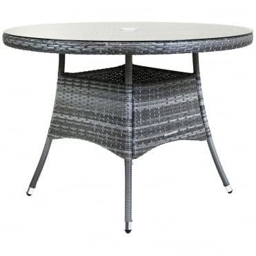 Napoli Round Rattan Dining Table