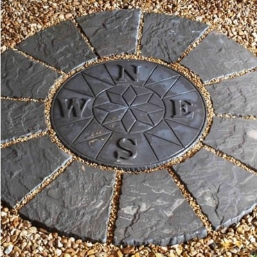 Classic Compass Rotunda Patio Kit - Twilight (1.2m)
