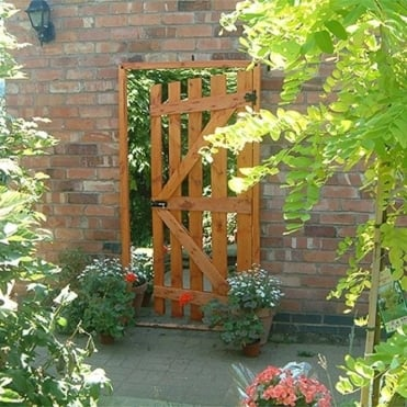 Classic Illusion Garden Gate Garden Mirror
