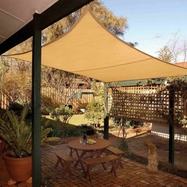Square Shade Sail 5.4m