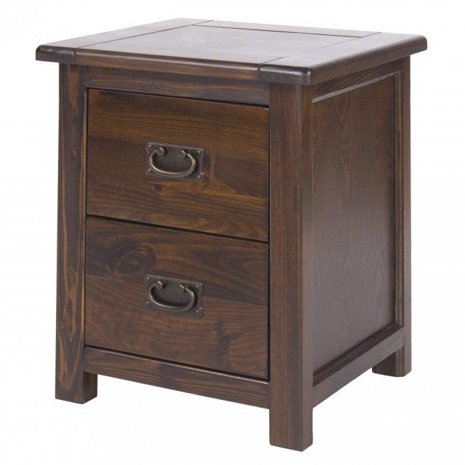 Image of Boston 2 Drawer Bedside Cabinet
