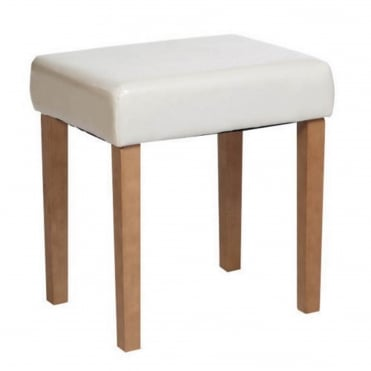 Capri Faux Leather Stool