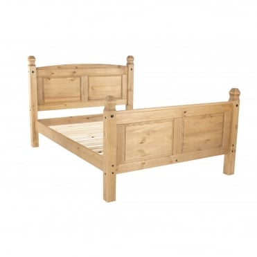 Corona Double High End Bedstead