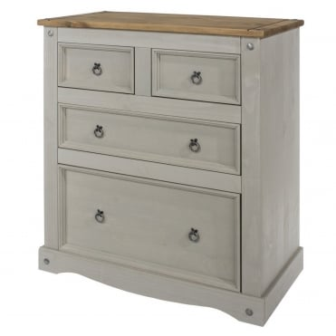 Corona Grey 2 + 2 Drawer Chest