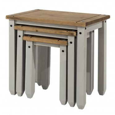 Corona Grey Nest of Tables