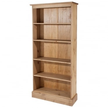 Cotswold Antique Pine Tall Bookcase