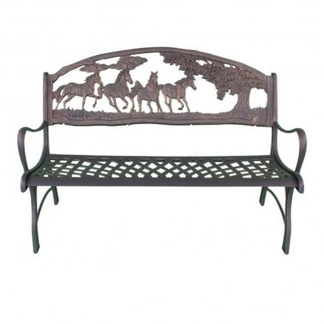 Gardeco Country Scene Bench