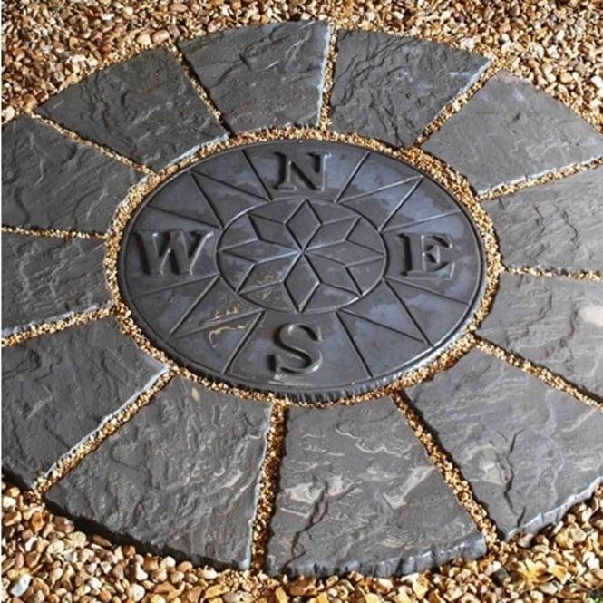 Classic Compass Rotunda Patio Kit Twilight 1 2m