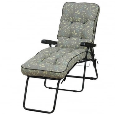 Deluxe Country Teal Lounger
