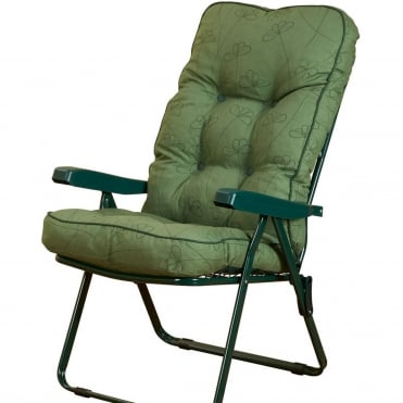 Deluxe Nancy Verde Recliner
