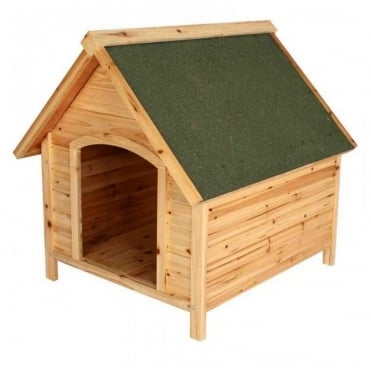 Cabin Solid Cedar Dog Home